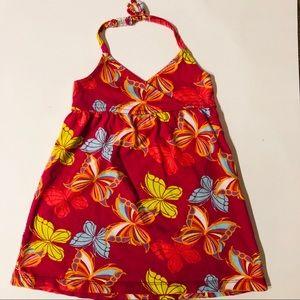 Babygap 18-24m butterfly halter sundress